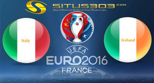 Prediksi Laga Italy vs Republic of Ireland 23 juni 2016